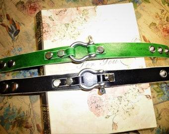 Сustom mens bracelet leather bracelet men brown bracelet custom leather cuff leather wristband