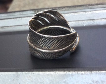 Feather Ring Sterling Silver Sale