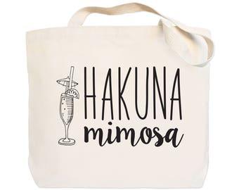 Hakuna Mimosa - Canvas Everyday Tote Bag