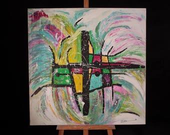 FORGIVENESS / acrylic on canvas