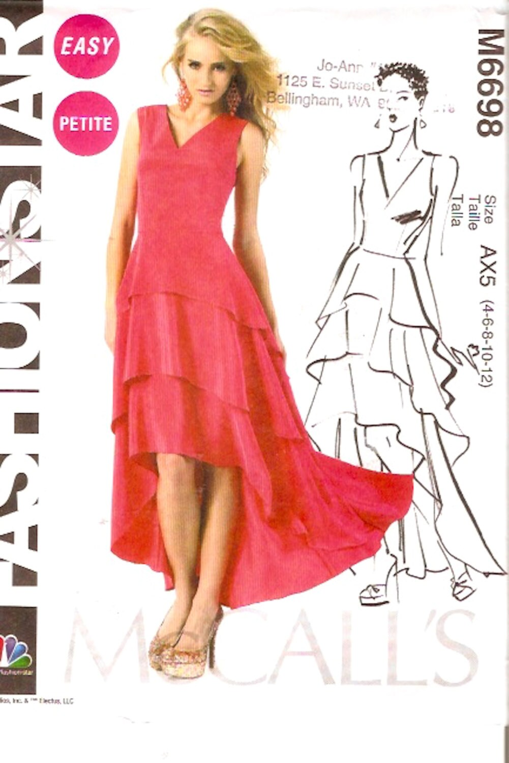 Spanish flamenco dress wedding dress grad gown sewing pattern zoom ombrellifo Gallery