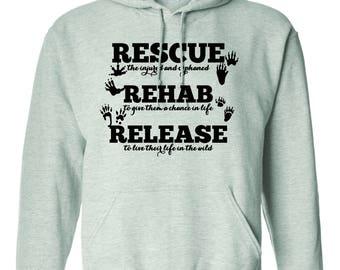 Wildlife Rehab Hooded Sweatshirt