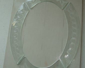 Bevel Cluster (Zipper Bevels) for Stained Glass