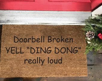 Front Doormat (Door Bell Broken)