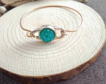Turquoise Swaroski Bracelet