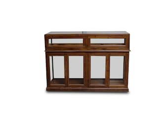Glass Display Case - Two Available