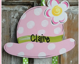 Hat Bow Holder, Hair Bow Holder, Bow Keeper, Girl Decor, Hand Painted, Personalized, Girl,t, Hair Clip Holder, Clip Holder,