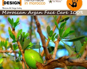 Marokkanische ARGAN FACE CARE 100%