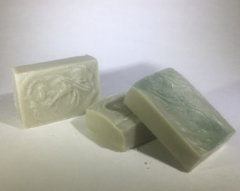 Unscented French Clay Yogurt Soap | Bar Soap | Cold Processed | All Natural | Artisan Soap | Avocado | Handmade Soap | Hygge | Farmhouse