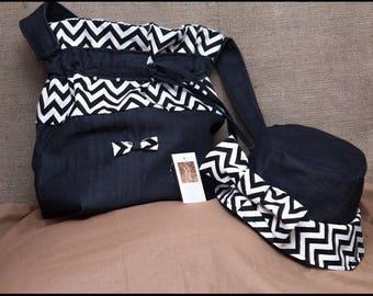 satchel bag and hat set size 58 cm France