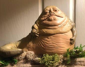 Jabba the Hut Driftwood Art