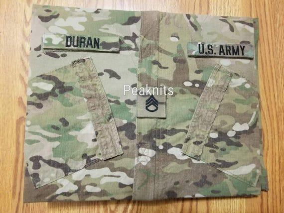 Handmade Military Army Multicam Scrapbook Or Memory Book 3