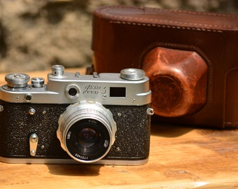 Film Camera Fed 3,Fed 3 Russian Camera,USSR Camera,Vintage Soviet Camera,Collectible Photo Camera,Retro USSR Camera,Old Russian Fed 3 Camera
