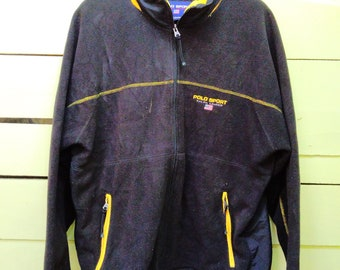 Free Shipping!! Vintage 90s Polo Sport By Ralph Lauren Hoodies Jacket Sweater Pullover Jumper