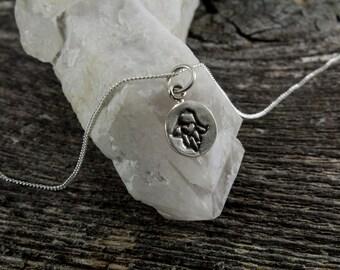 Hamsa Mini Necklace