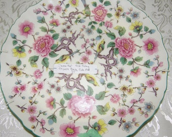 """James Kent Old Foley """"CHINESE ROSE"""" Cake Plate"""