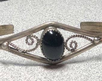 Sterling silver bracelet by native american Paul j.Begay