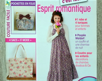 Magazine sewing is easy 12 - romantic spirit