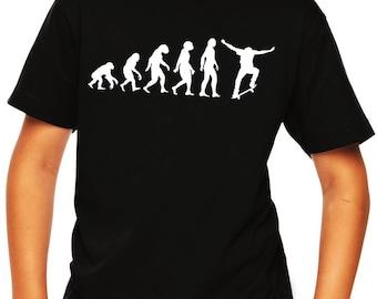 Skakeboard shirts for kids, skateboard shirt for boys, skateboarder shirts for girls, youth skateboarding shirt, kids skateboard tee shirt