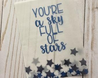 Sky Full of Stars Vellum TN Planner Insert