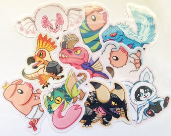 Monster Hunter World Stickers