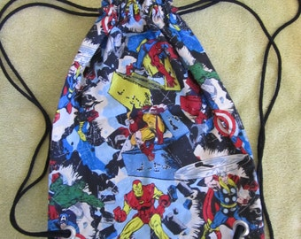 Avengers Drawstring Backpack