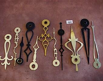 Vintage Antique Watch parts Clock Hands- Steampunk - Scrapbooking q13