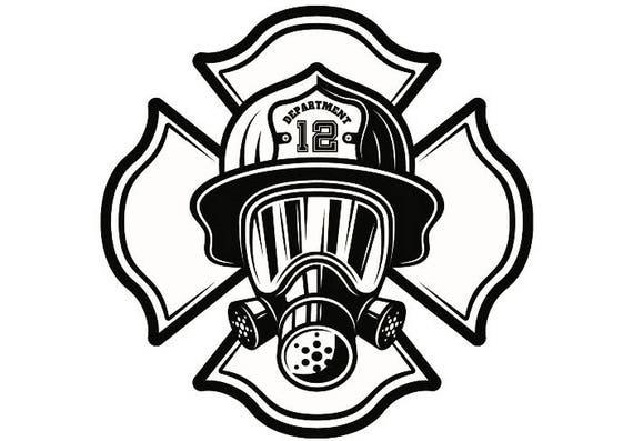 Favorite Firefighter Logo 7 Firefighting Helmet Mask Shield Rescue JJ49