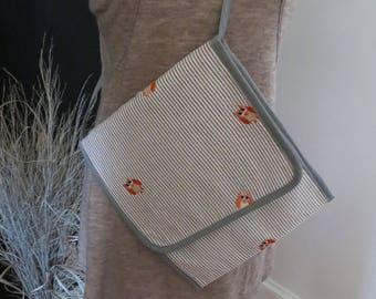 Owl Print Cross-body Bag