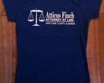 Atticus Finch Attorney at Law T-Shirt - TKaM Gift English Teacher Classic American Literature Men Women