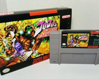 Jojo's Bizarre Adventure - English SNES NTSC Translation
