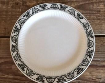 Vintage Set of 4 Claridge Tradition Ironstone Salad Dessert Plates