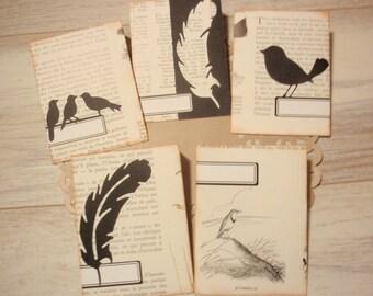Envelopes Handmade Birds Set 4