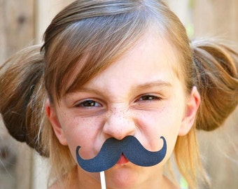 MIx and Match Mustache Photo Props - set of 12