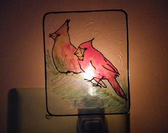 Cardinal Pair Night Light