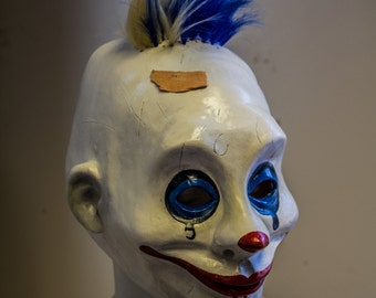 Grumpy 1:1 Dark Knight TDK Mask, Joker's thug, Clown mask, Prop