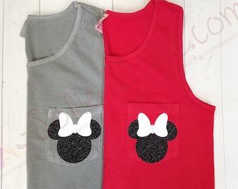 Disney Shirt/Disney Tank Top/Minnie Mouse/ Comfort Colors