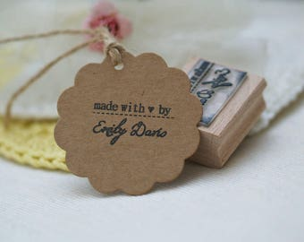 Made With Love By Rubber Stamp
