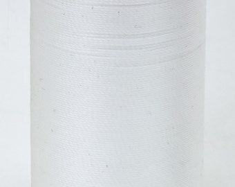 Coats & Clarks Upholstery Thread, heavy duty, great for bear making. Color 100 White