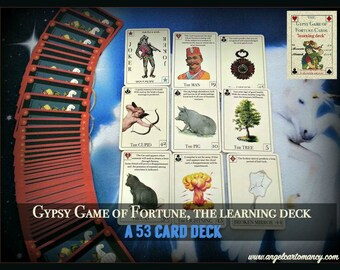 The Gypsy game of fortune cards  by Alexandre Musruck