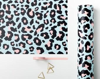 Leopard Print Gift Wrap