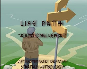 """StarTypes """" Life Path Vocational Reading""""."""