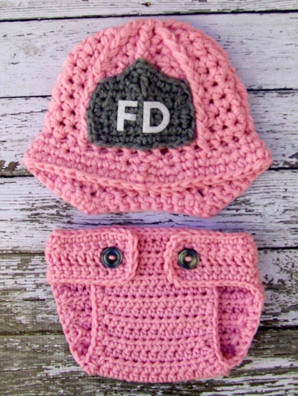 Feuerwehrmann-Helm in rosa grau und weiß mit passendem