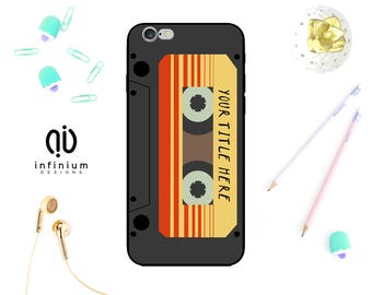 Custom Mixtape Case For iPhone 8, Samsung S9, S9 Plus, Samsung A3, Samsung A5, Samsung S8, S8 Plus, iPhone 7, 8 Plus, iPhone 6S & iPhone 5S