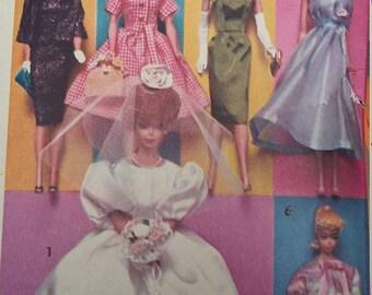 Vintage Advance Barbie Trousseau Wardrobe
