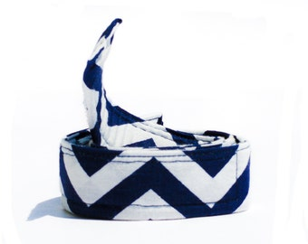 Navy Blue Belt for Boys - Buckleless Belt - White Belt - Waist Belts for Kids - Potty Training Web Belts for Boys - Boys Belts
