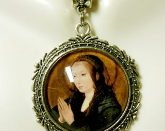 Virgin Mary pendant and chain - AP25-100