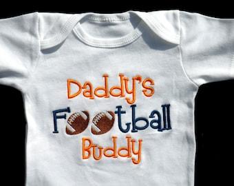 Football Baby Boy Clothes Daddy S Football Buddy Sports