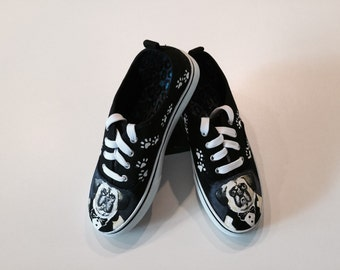 Hand painted sneakers