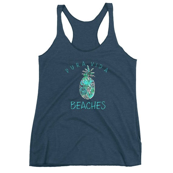 Cheap Sale 2018 New Printed Racerback Top - us by VIDA VIDA Cheap Limited Edition Cheap Sale Release Dates Good Selling 8FyDT